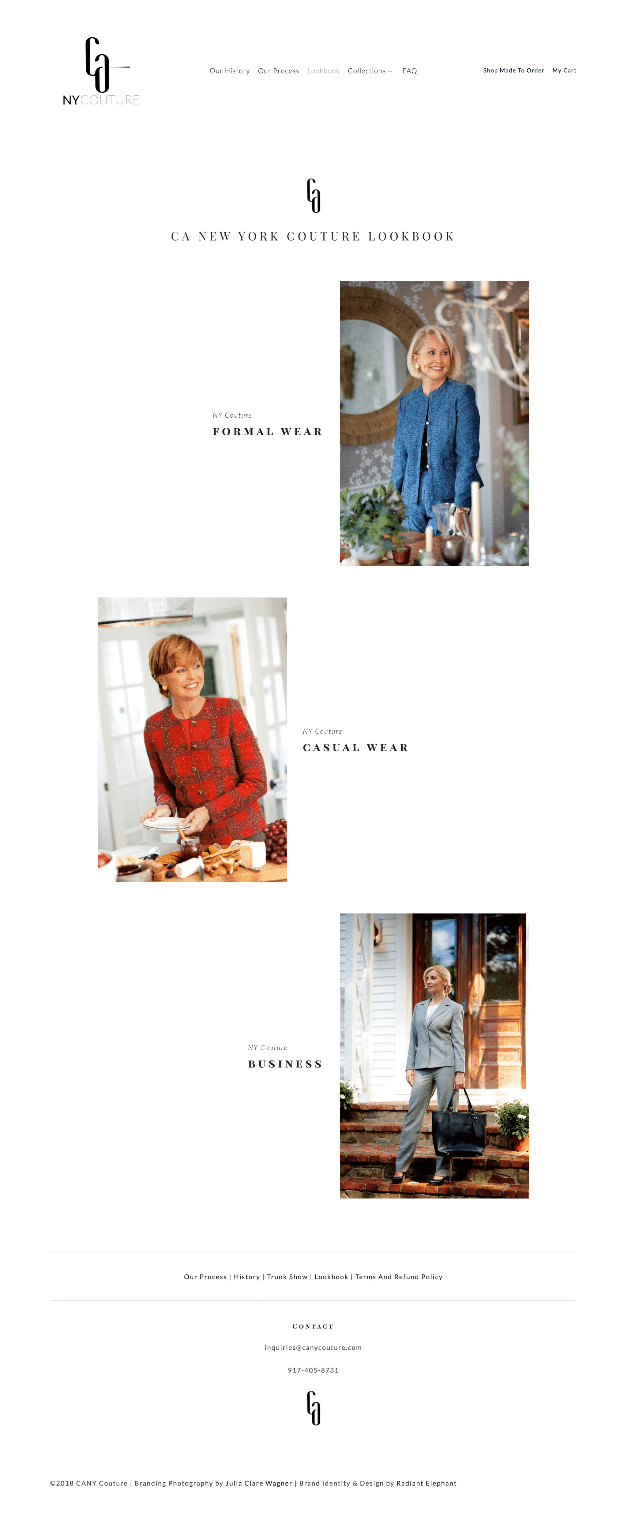 fashion-company-web-design