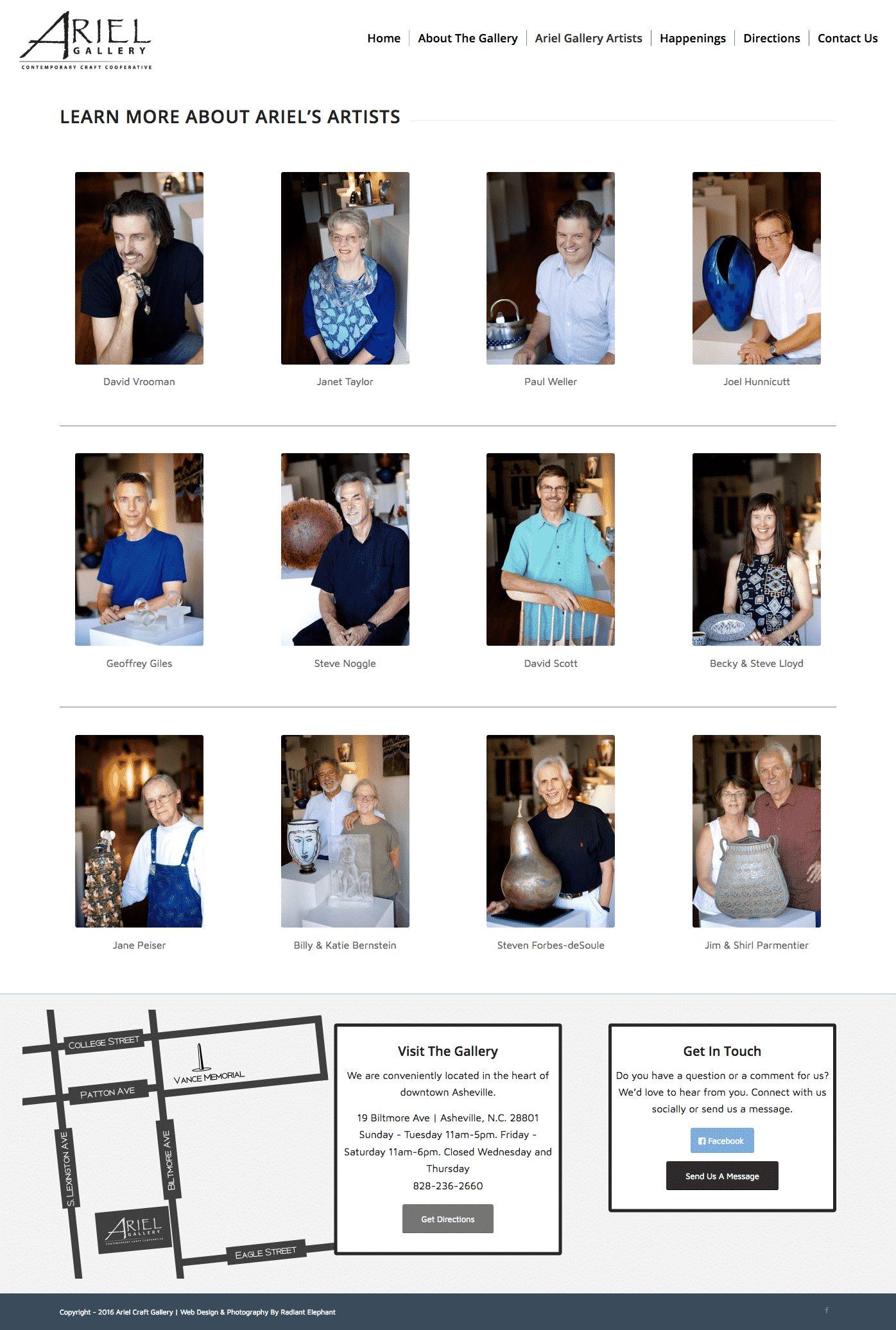 nj-art-gallery-website-design
