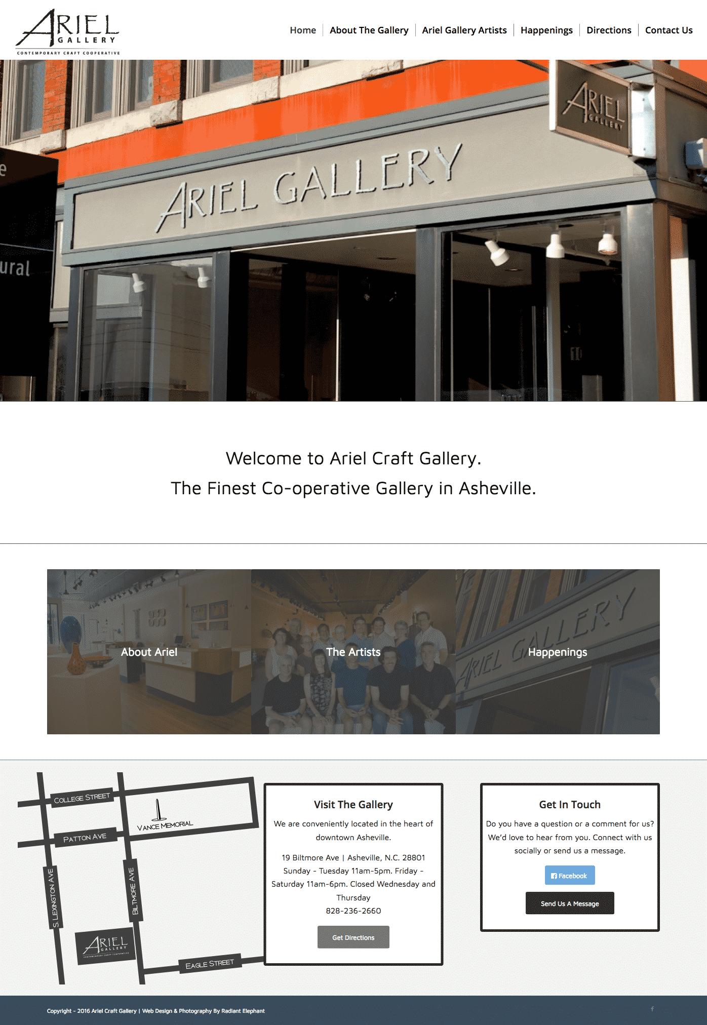 web-design-art-gallery